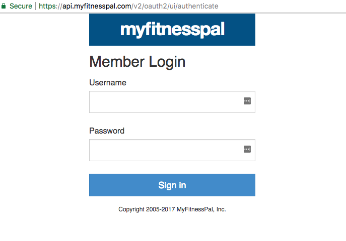 Cannot log into MyFitnessPal OAuth with Facebook – Human API Support
